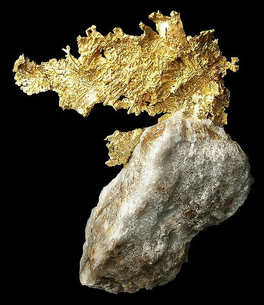 how to find gold deposits in rivers