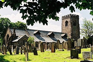 Goosnargh village in the United Kingdom