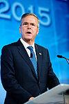 Governor of Florida Jeb Bush at Southern Republican Leadership Conference, Oklahoma City, OK May 2015 by Michael Vadon 145.jpg