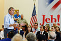 Governor of Florida Jeb Bush at TurboCam, Barrington, New Hampshire on August 25th by Michael Vadon.jpg