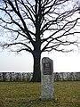 Graf Zeppelin Denkmal in Echterdingen, neue Stele 2008 - panoramio.jpg