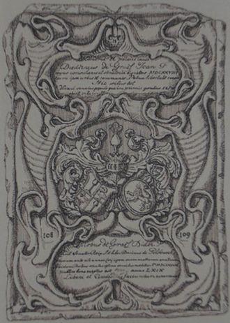 Diederik Jansz. Graeff - Epitaphimage of Diederik Jansz Graeff at the Oude kerk (Amsterdam)