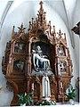 Gramastetten Pfarrkirche - Altar Pieta 1.jpg