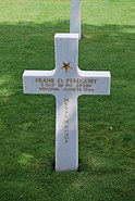 Grave of Frank D Peregory
