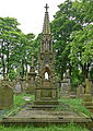 Grave of Samuel Webster (Brewer), Pellon, near Halifax (Taken by Flickr user 9th June 2012).jpg