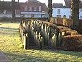Gravestones, Litten Gardens - geograph.org.uk - 1730264.jpg