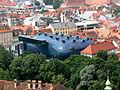 Graz Kunsthaus vom Schlossberg.jpg