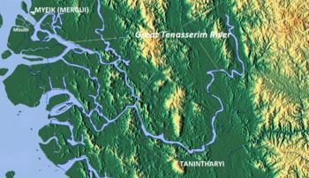 Great Tenasserim River - Wikipedia