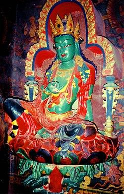 Green Tara, Kumbum, Gyantse, Tibet, 1993.jpg