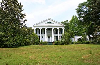 Greensboro, Alabama - Magnolia Hall, also known as the McCrary-Otts House, on Otts Street