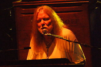 Gregg Allman - Allman during the Allman Brothers Band's annual residency at the Beacon Theater in New York in 2009