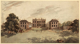 Edmund Burke - The Gregories estate, purchased by Burke for £20,000 in 1768