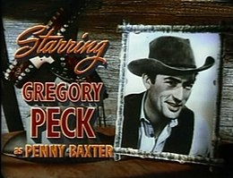 Gregory Peck in The Yearling trailer.jpg