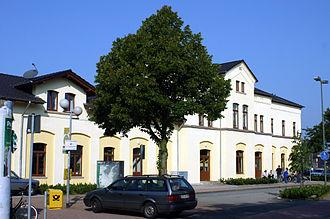 Greven - Image: Greven,Bahnhof 8841