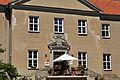Griebenow, Schloss, Eingang (2011-06-11) by Klugschnacker in Wikipedia.jpg