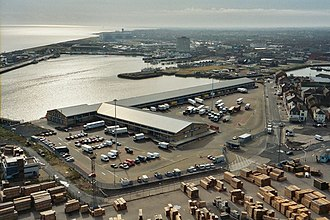 Port of Grimsby - Fish Dock and fish market (2003)