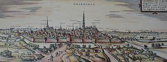 Groningen - Groningen in the 16th century