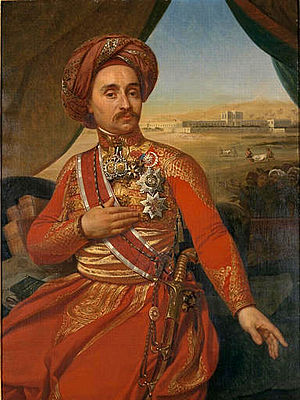 Antoine Clot - Portrait of Clot in Egyptian Army uniform.