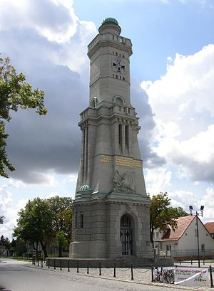 Großbeeren - Großbeeren memorial tower