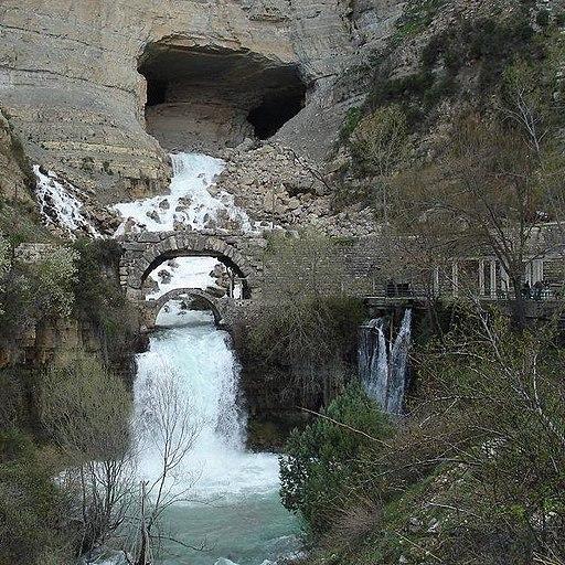 Grotte d'afqa 2015 a l' hiver