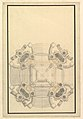 Ground Plan for a Catafalque for the King of Sardinia, Vittorio Amedeo (d.1732) MET DP820101.jpg
