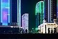 Grozny, Russia, Grozny City Towers at night.jpg