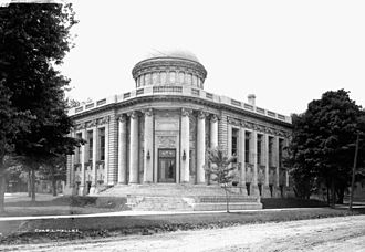 Wellington County, Ontario - The original Carnegie library in Guelph.