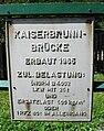 GuentherZ 2010-08-14 0026 Kaiserbrunn Brueckentafel.jpg