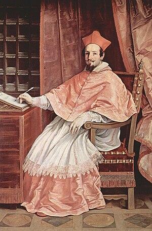 Bernardino Spada - Cardinal Spada. Oil painting by Guido Reni, c. 1631. Galleria Spada, Rome
