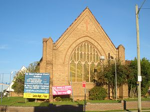 Guildford, New South Wales - St Marys Anglican Church
