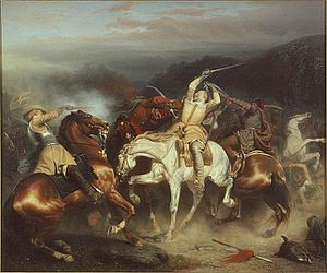 Battle of Trzciana - Image: Gustav II Adolf vid Stuhm