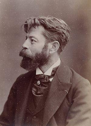 Gustave Fraipont - Gustave Fraipont photographed by Nadar