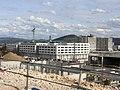 Hôpital Jean-Minjoz - Besançon - construction.JPG