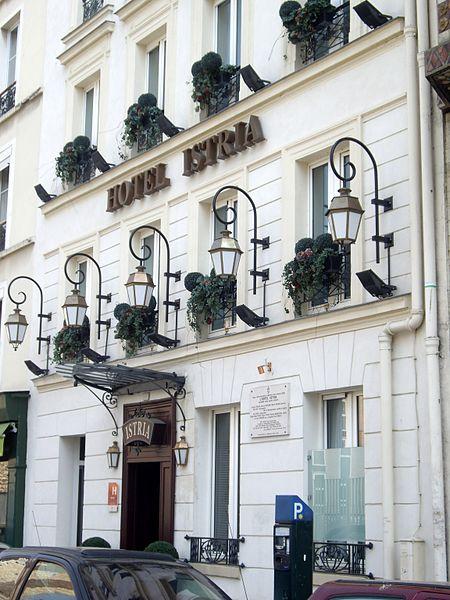 Fichier H Tel Istria Rue Campagne Premi Re Paris