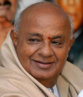 H. D. Deve Gowda 11th Prime Minister of India