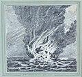 H.M.S. Alceste on fire. Pulo Leat RMG PW8549.jpg