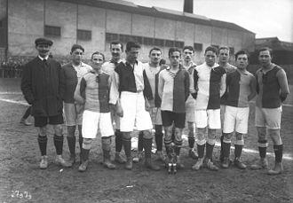 Le Havre AC - HAC in Tournoi de paques 1913