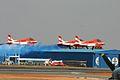 HAL HJT-16 Kiran Indian Air Force ( Surya Kiran Aerobatic Team ) (8413504145).jpg