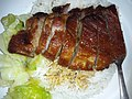 HK 香港理工大學 PolyU 紅磡 Hung Hom Canteen diner food 叉燒 bbq pork meat June 2019 SSG 06.jpg