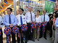 HK SW 119 Queen's Road West Park'n Shop Grand Open Ribbon-cutting ceremony Aug-2012 087.JPG