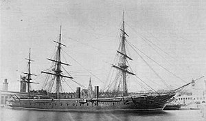 Warrior-class ironclad - Image: HMS Warrior