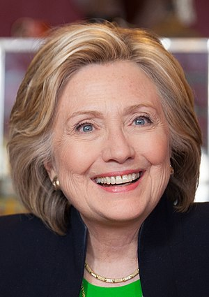 Hillary Clinton presidential campaign, 2016 - Hillary Clinton at an early campaign event in Iowa on April 14, 2015