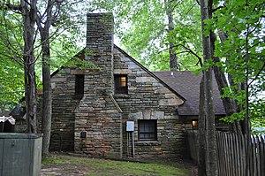 Hanging Rock State Park - Hanging Rock State Park Bathhouse, September 2013