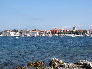 Poreč City in Istria, Croatia