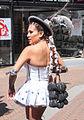 Haar uit Bolivia danseres in Spijkenisse.jpg