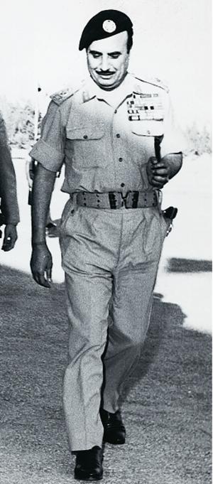 Habis al-Majali - Habis al-Majali in 1960
