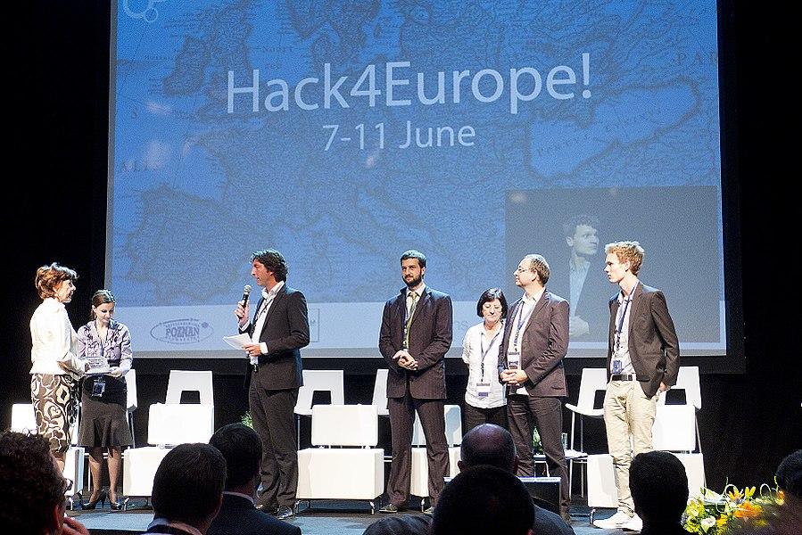 Hack4Europe prize ceremony at Digital Agenda Assembly 2011