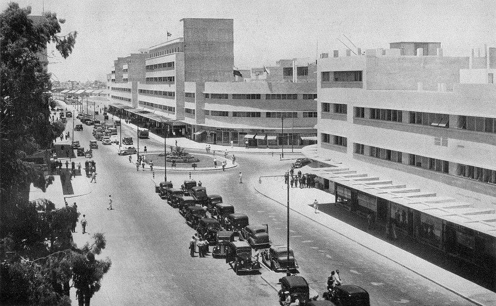 Haifa Kingsway, 1938