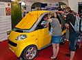 Half of a Smart car at GamesCom - Flickr - Sergey Galyonkin.jpg