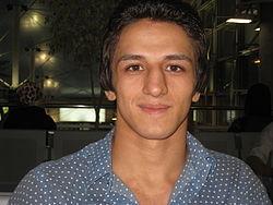 حمیدمحمد سوریان ۱۶ مرداد ۱۳۸۷ تهران، ساعاتی قبل از اعزام به المپیک ۲۰۰۸